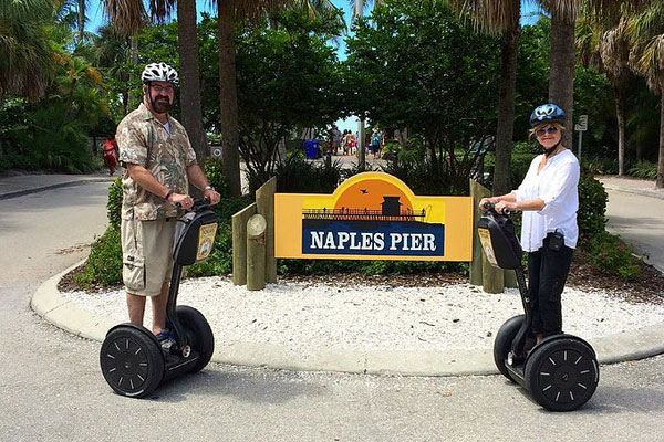 An exciting Segway Tour of Naples