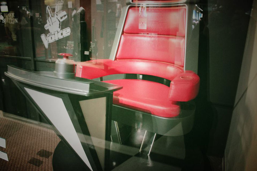 Blake Shelton's Voice Chair