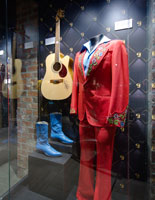 The museum gives visitors insight into where George's story began.