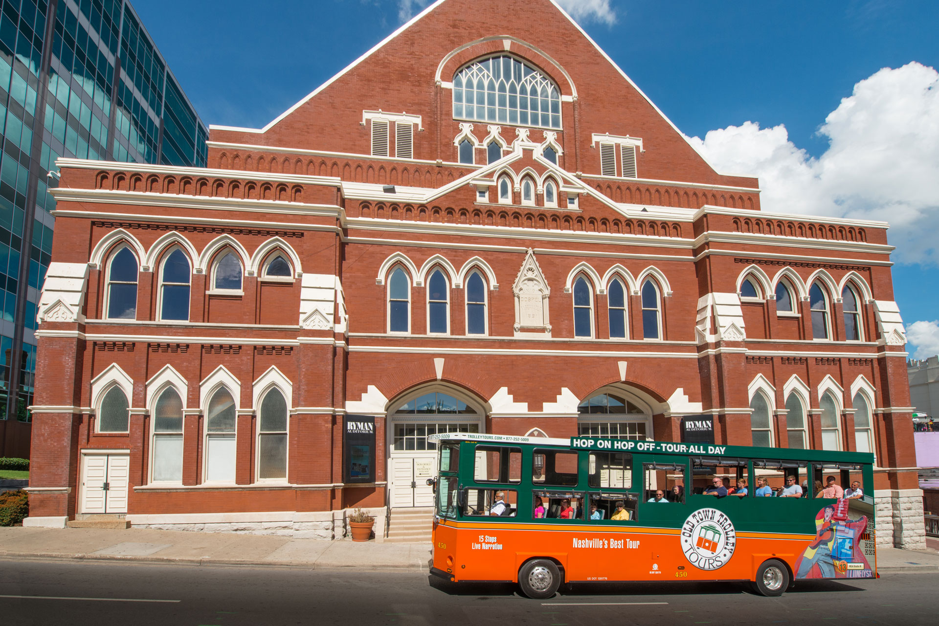 Old Town Trolley Tour of Nashville