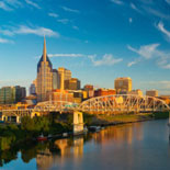 An exciting 1 hour and 40 minute tour of Nashville covering over 100 points of interest.