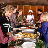 Creole Cuisine Buffet on the Mississippi