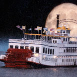 """The """"Moon above New Orleans"""" and the Creole Queen"""