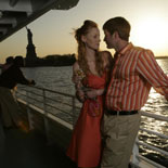 Nothing quite compares to a NYC sunset cruise through city lights glistening like diamonds on the dark water.