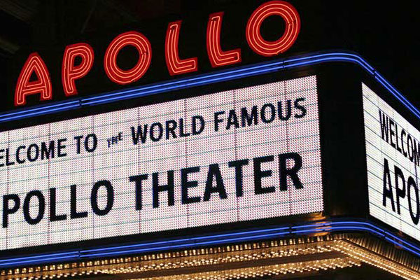 See the world-famous Apollo Theater