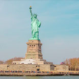 See the Statue of Liberty and Ellis Island
