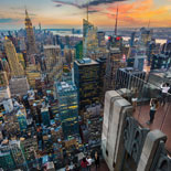 Top of the Rock offers breathtaking 360 degree panoramic views