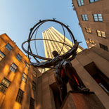 Atlas is probably the most famous statue in Rockefeller Center
