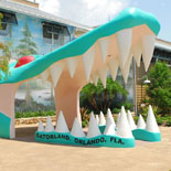 "Gatorland is a 110-acre theme park and wildlife preserve with ""Old Florida"" charm"