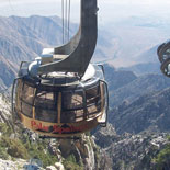 The Tramway covers 2 1/2 miles and boasts the World's largest rotating Tramcars