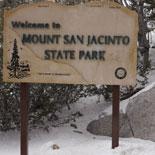 Ascend 2 1/2 miles to Mt. San Jacinto State Park