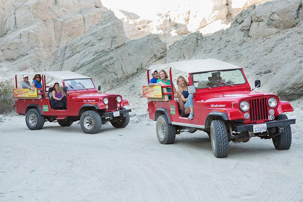San Andreas Fault Sunset Jeep Tour