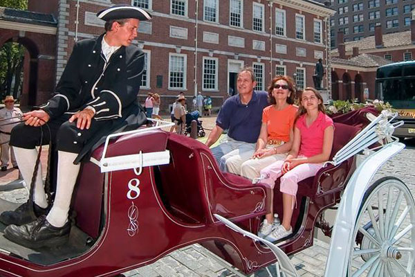 Philadelphia 20 Minute Carriage Tour