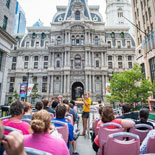 Now you can experience the unique history and beauty of Philadelphia from Modern Double Decker Buses