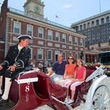 Enjoy Philadelphia attractions aboard one of the stylish coaches for a wonderful experience.