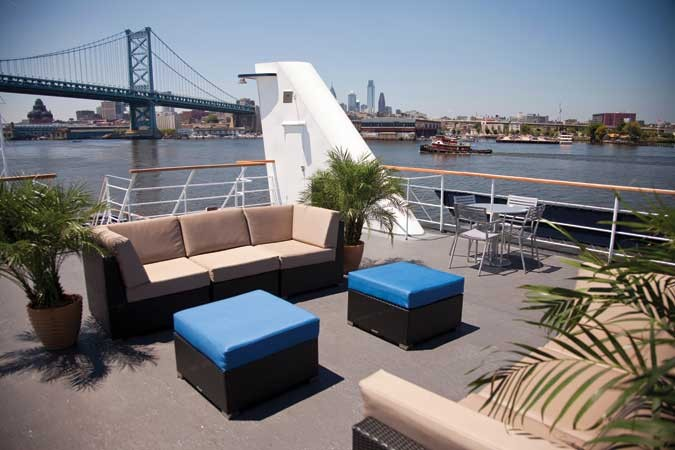 Largest outdoor patio deck in the city