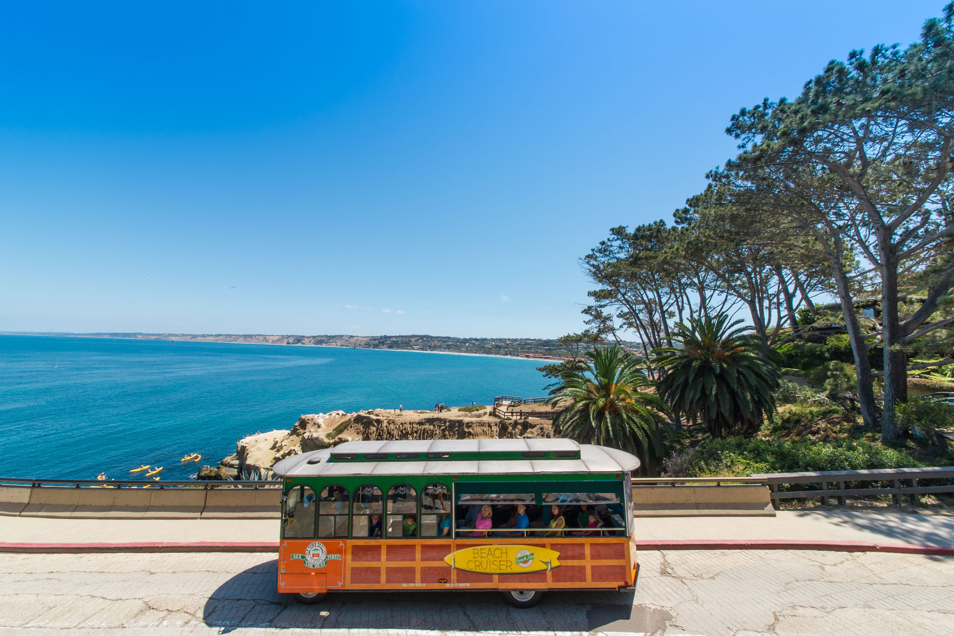 La Jolla Beaches Tour Package