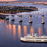 Spectacular Panoramic Views of the San Diego Bay