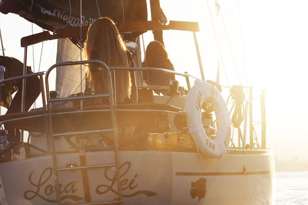 Sail Aboard A Restored Luxury Sailing Vessel