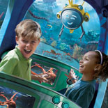 Spectacular animal shows, interactive attractions, aquariums, rides and lush landscaping