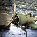Midway features more than 60 exhibits that bring the magic of naval aviation to life.