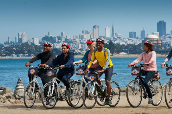 Experience San Francisco by Bike