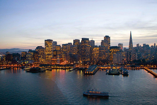 Dinner cruise on San Francisco Bay