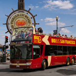 Go Sightseeing on an Open-Air Double-Decker Bus
