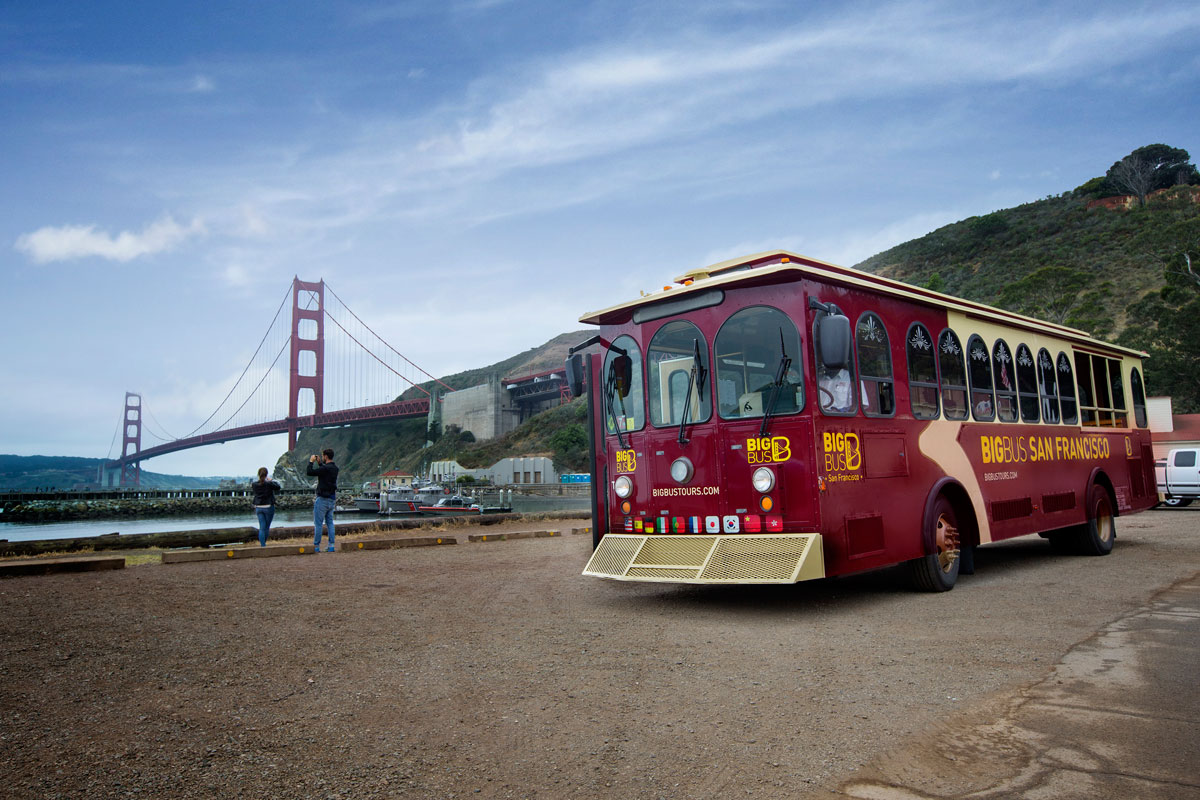 Big Bus San Francisco Discount Tickets For 24 Hours