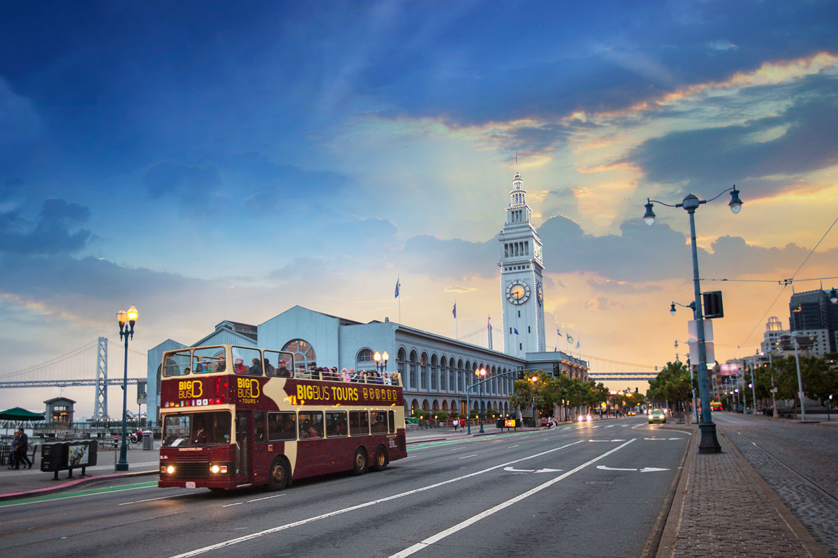 Big Bus San Francisco Discount Tickets For 48 Hours