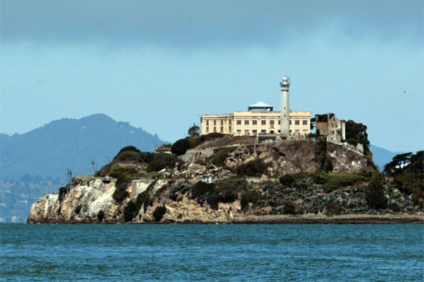 Cruise past Alcatraz.
