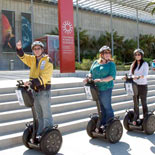 Golden Gate Park Segway Tour guide in front of the California Academy of Sciences.
