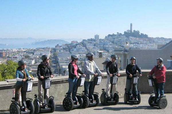 The newest and most challenging Segway route