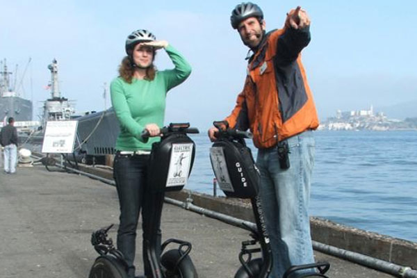 The Wharf & Waterfront Segway Tour