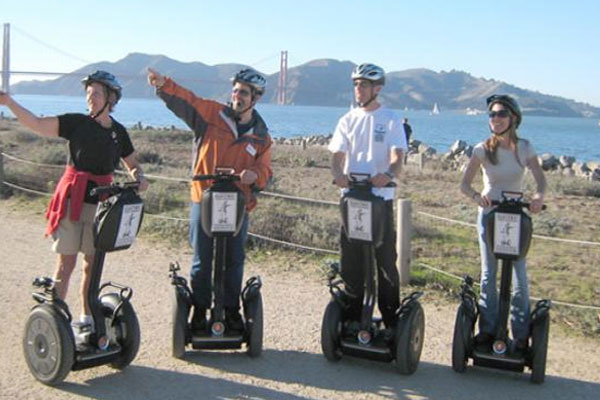Segways are easy to use and operate