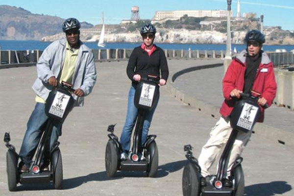 A great place to ride the Segway