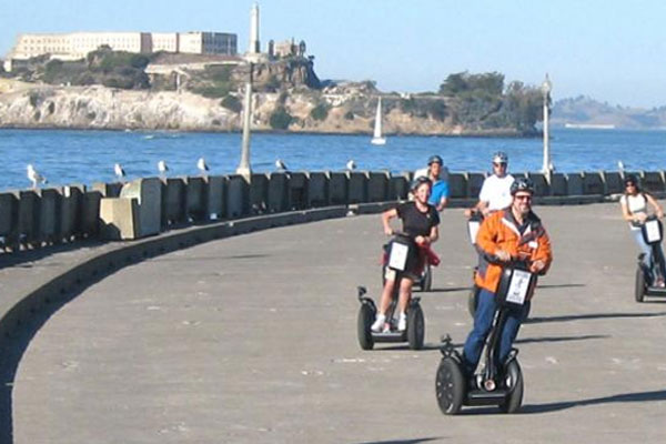 Segways with lean steer are a blast to ride