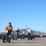 The new I2 Segways with lean steer are a blast to ride on the San Francisco Waterfront Tour