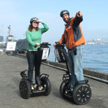 The Submarine USS Pampanito is one of the sights on the San Francisco Waterfront Segway Tour.