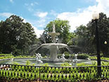 Take a stroll through Forsyth Park