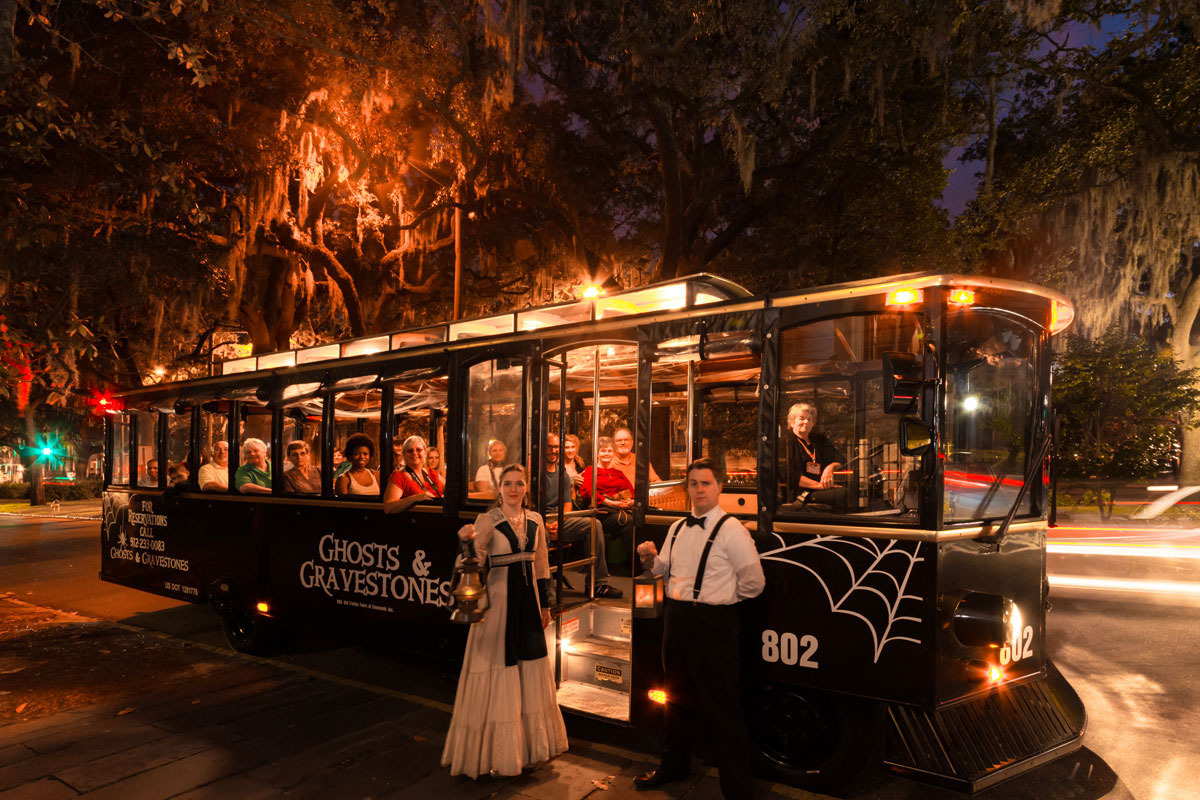 Enjoy the Haunting Ghost Tour