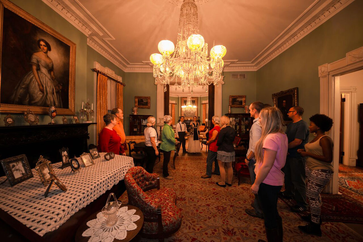 Spirits Inside Juliette Gordon Low House