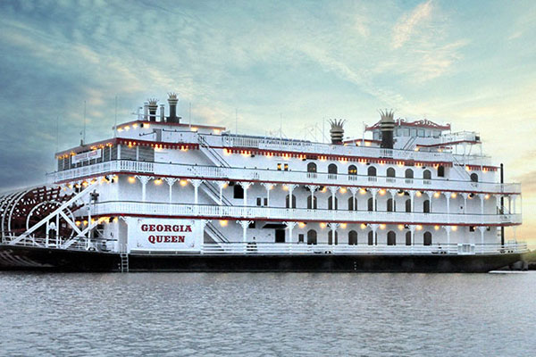 River Street Riverboat Georgia Queen