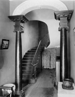 Entry Hall prior to the 1960s Restoration