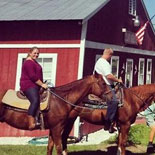 Horseback Trail Rides at Red Gate Farms