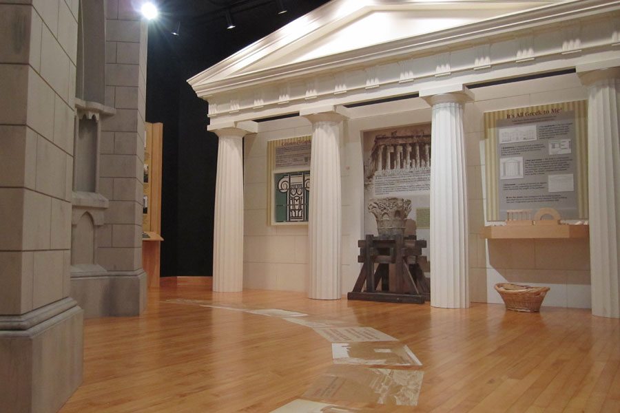 Classically Inspired Architecture Exhibit