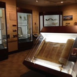 Visit our award winning museum and see the oldest complete Torah in America