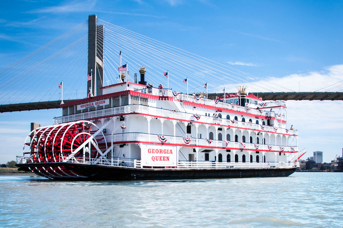 Cruise on a Savannah Riverboat