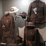 Original Uniforms And Military Relics Collected Over A Lifetime