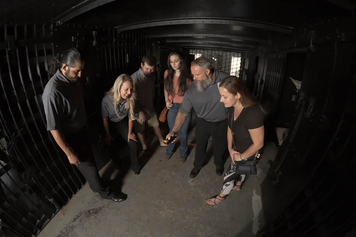 Participate in Actual Paranormal Investigation